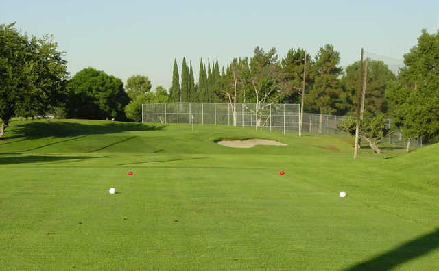 A view from tee #5 from North at Los Angeles Royal Vista Golf Club.