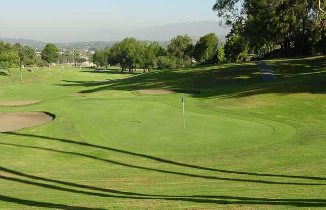 A view of a green at Royal Vista Golf Club.