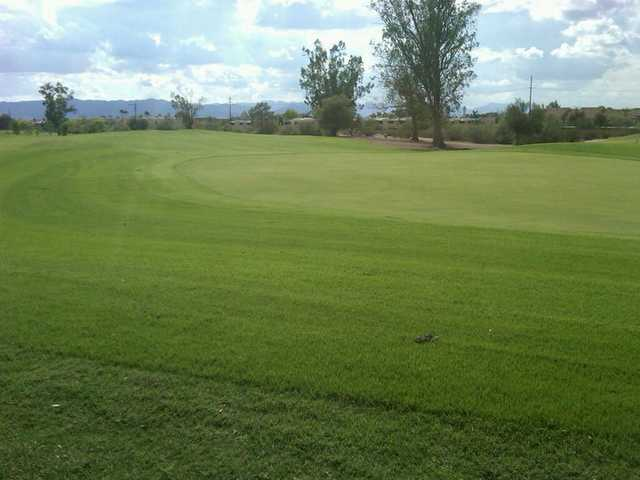 A view of the 16th hole at Papago Golf Course