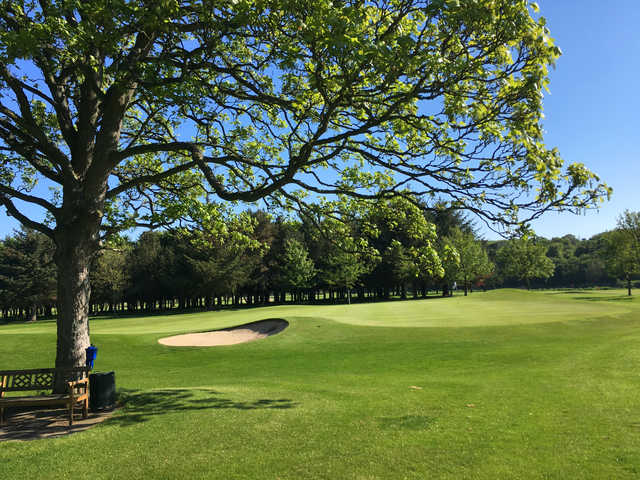 A view from Duff House Royal Golf Club
