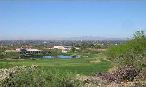 A view from Coronado Golf Course with clubhouse in left background