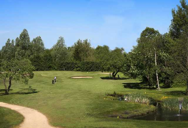 A view of the 7th hole at Blackley Golf Club.