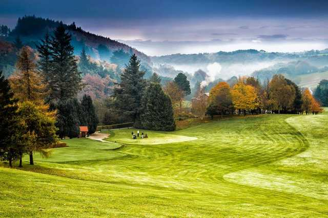 A view from the 5th tee at Muskerry Golf Club.