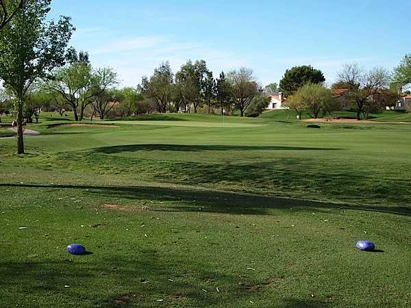 A view of green at Scottsdale Silverado Golf Club - Silver Pony Course