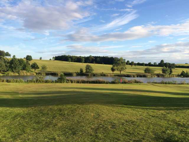 A view of a hole at Barlborough Links Golf Club.