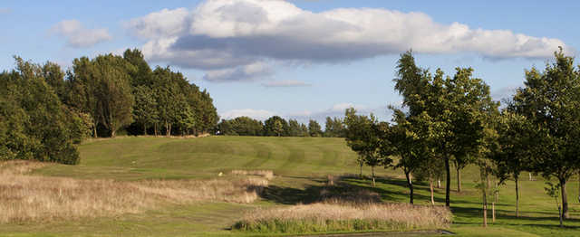 A view of a fairway at Bury Golf Club.
