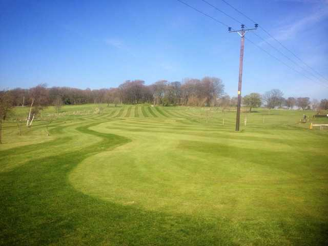 A view of the 12th fairway at Calverley Golf Club.