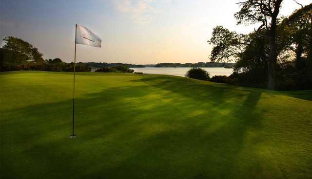 A view of a hole at Faithlegg Golf Club.