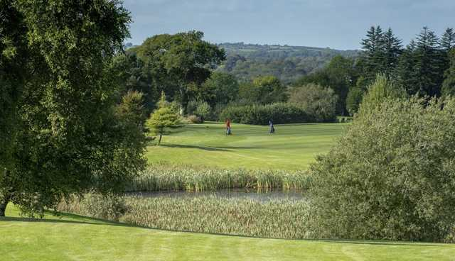 A view of the 2nd fairway at Faithlegg Golf Club.