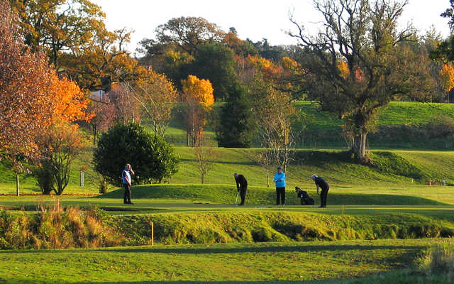 A fall day view from Kirkby Lonsdale Golf Club.