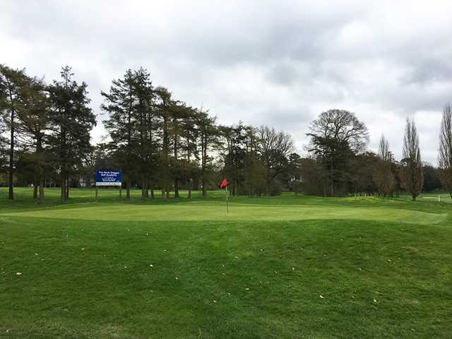 A view of a green from Stockwood Park Golf Club.