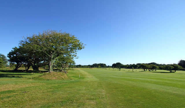 A view of the 7th fairway at Newtown Course from Tramore Golf Club.