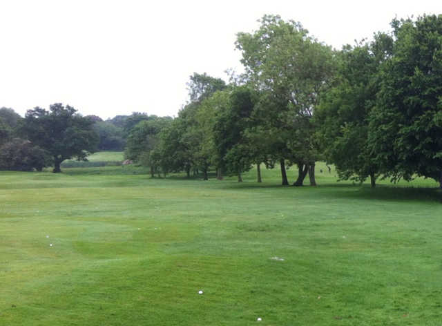 A view from Upton by Chester Golf Club.