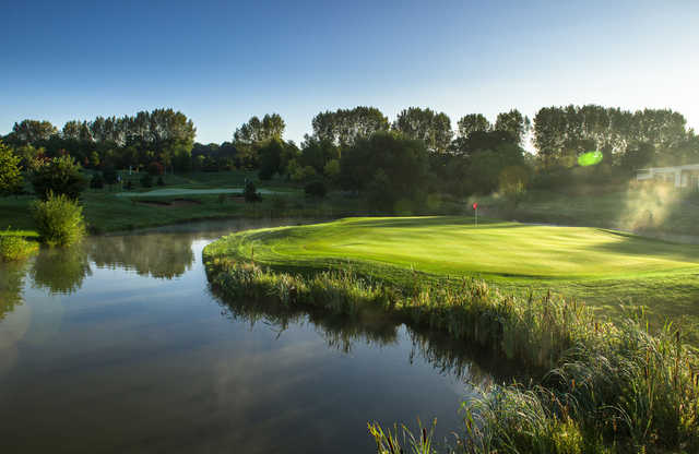 View of the finishing hole from the Masters Course at The Shire London