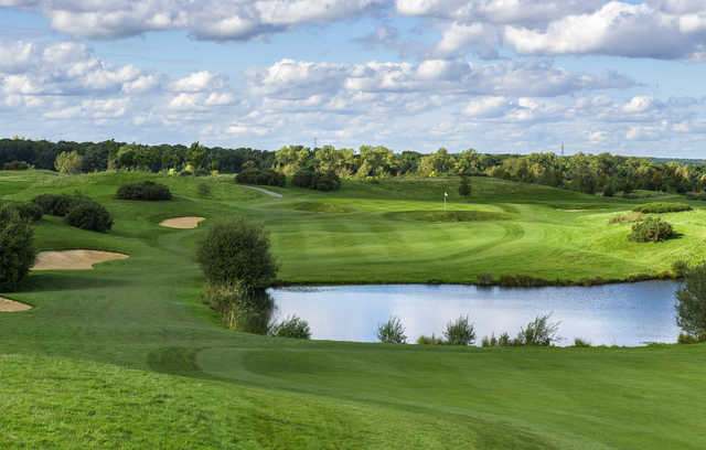 View of the 2nd hole from the Masters Course at The Shire London