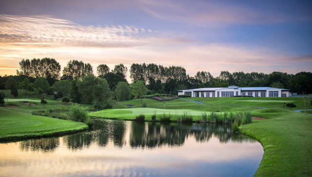 View of the 18th hole from the Masters Course at The Shire London