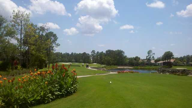 A view from a tee at Vanderbilt Country Club.