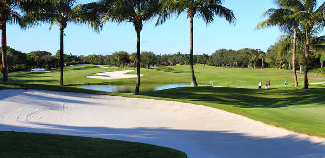 A sunny day view from Delaire Country Club.