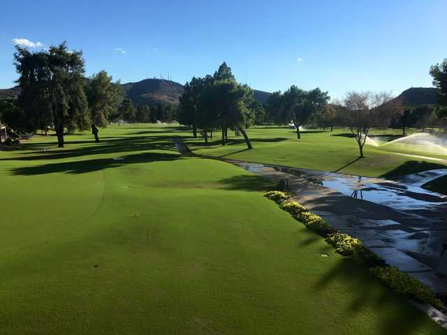 A sunny day view from Moon Valley Country Club.