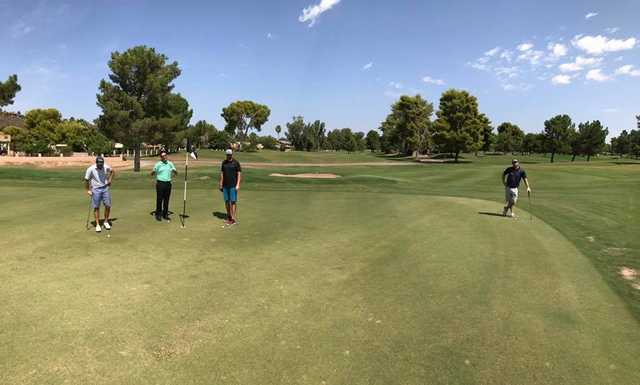 A view of a green at Moon Valley Country Club.