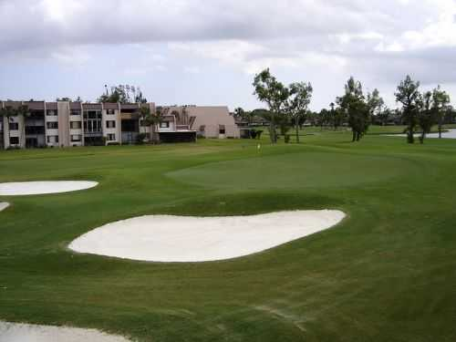 A view of the 1st hole at Fountains Country Club - West Course