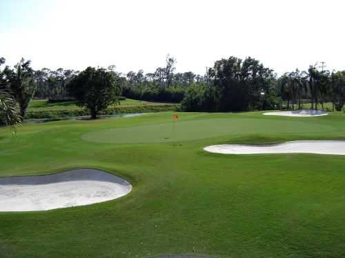 A view of hole #15 at Fountains Country Club - West Course