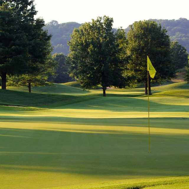A view of a hole at Vanderbilt Legends Club.