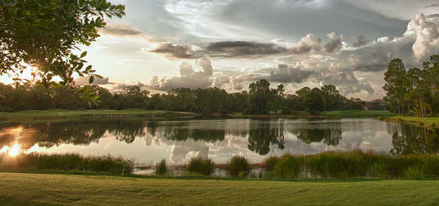 A view over the water from Grey Oaks Country Club.