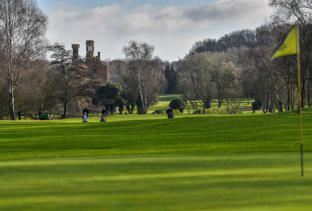 View from a green at Costessey Park Golf Club