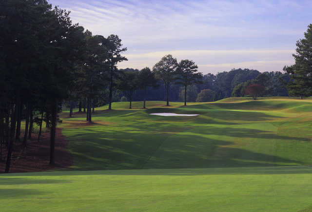 A view of hole #17 at University of Georgia Golf Course.