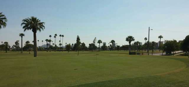 A view of hole #8 at Encanto Nine Golf Course (Al Jones).