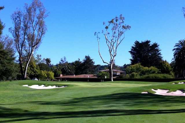 A view of the 12th hole at La Cumbre Country Club.