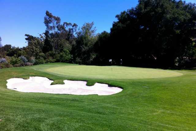 A view of green #6 at La Cumbre Country Club.