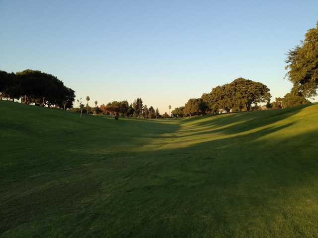 A view of fairway #7 at La Mirada Golf Club.