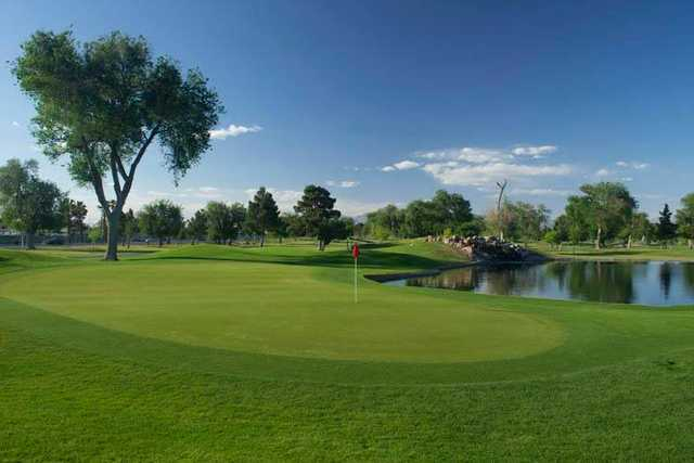 A view of hole #3 at Las Vegas Golf Club.