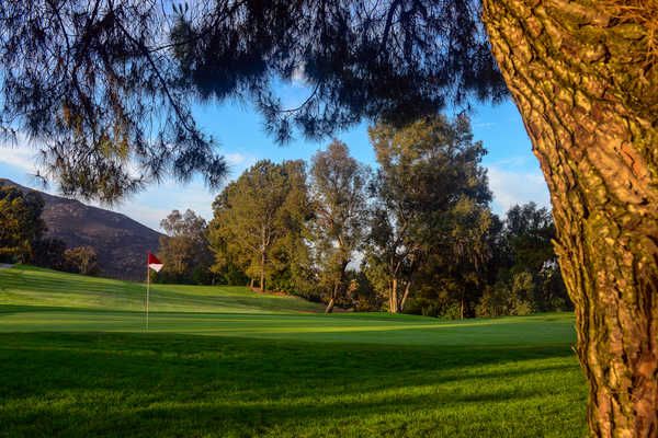 A view of the 11th hole at Mission Trails Golf Course.