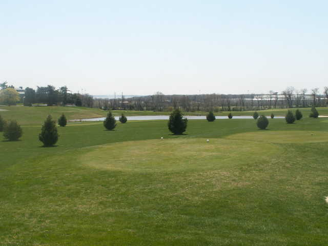 A view from Furnace Bay Golf Course