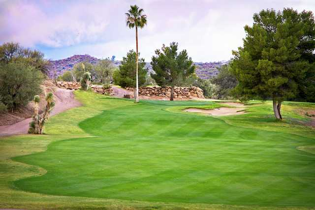 A view from fairway #1 at Wickenburg Country Club.