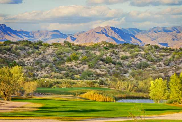 A view of hole #5 at Wickenburg Country Club.