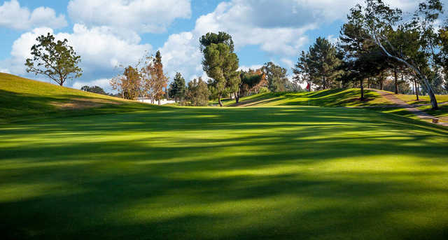A view of a hole at Alhambra Golf Course.