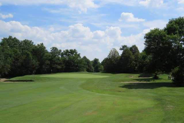 View of a green at Stony Creek Golf Course