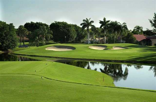 A view from tee #4 at Boca Greens Country Club