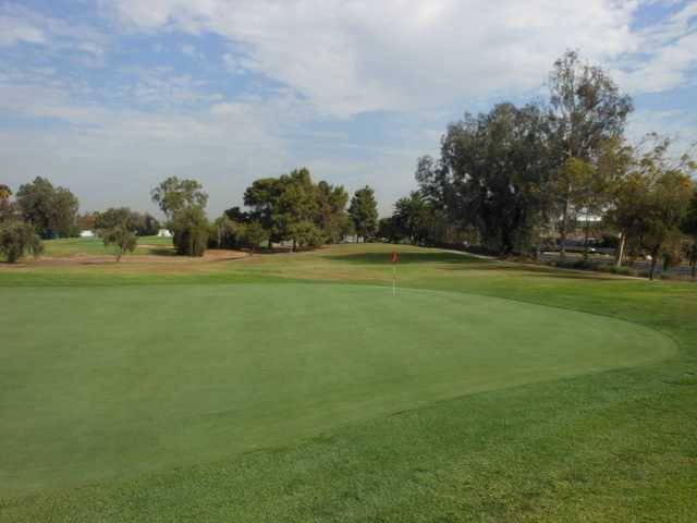A view of the 5th hole from The Links at Victoria Golf Course.