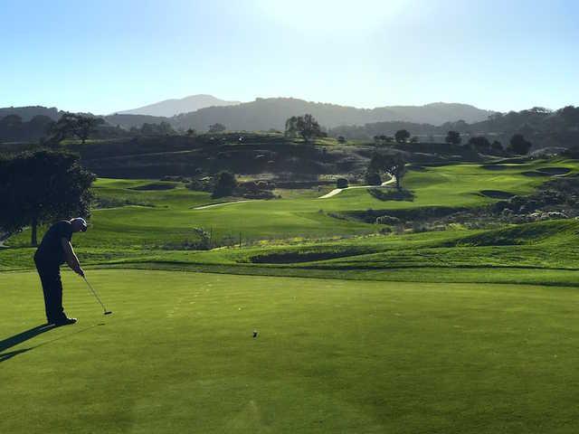 A view from Cinnabar Hills Golf Club.