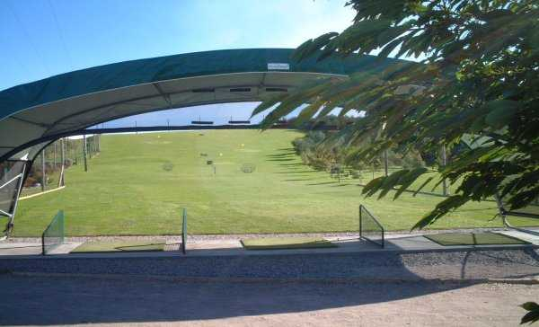 Kinloss GC: View from the driving range