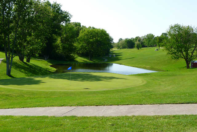 A view of hole #5 at Eighteen Hole from Bright Leaf Golf Resort