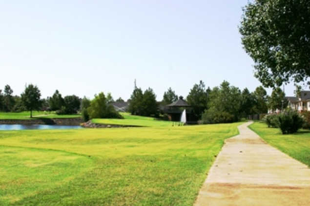 A view from The Links at Fort Smith Golf & Athletic Club
