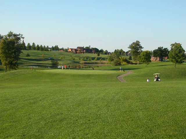 A view of the 7th hole at Eighteen Hole from Bright Leaf Golf Resort