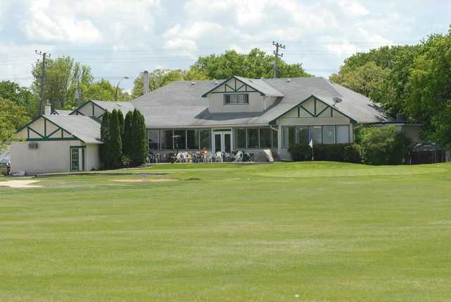 View of the clubhouse at Assiniboine Golf Club