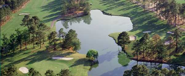Aerial view from General James Hackler Golf Course at Coastal Carolina University